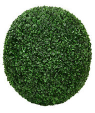 """ONE 20"""" ARTIFICIAL BOXWOOD BALL INDOOR OUTDOOR TOPIARY TREE PLANT POOL PATIO"""