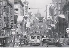 """+PC-Postcard-""""Wisconsin Avenue"""" -Various Theatres)- @ /Milwaukee, Wi./ (#74)"""