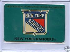 1994 NHL NEW YORK RANGERS PHONE CARD