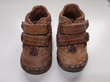 Zapatos marrones tipo bota. Unisex, para niño o niña. Talla 21. Billowy