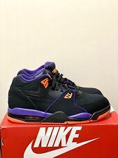 Nike Air Flight 89 Black Orange Purple Mens Basketball Shoes CU4838-001 SIZE 11