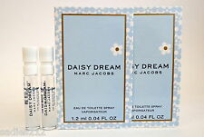 DAISY DREAM by MARC JACOBS EDT PERFUME 1.2ml .04fl oz SPRAY MINI SAMPLE x2