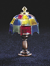 Dollhouse Tiffany-style Table Lamp PAIR!!!