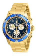 Glycine GL1003 Men's Combat Sub Quartz 42mm Chronograph Gold-Tone Watch
