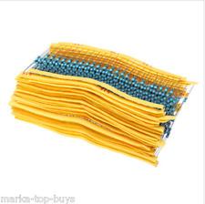 750pcs 30 values 1% 1/4w five color ring metal film sono denominati resistor KIT