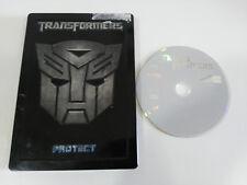 TRANSFORMERS I PROTECT DESTROY 2007 - DVD STEELBOOK HASBRO CASTELLANO ENGLISH