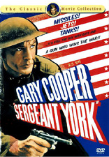 Sergeant York (1941) - Gary Coopre, Walter Brennan DVD *NEW [DISC ONLY]