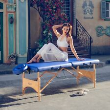 Master Massage Table Brady Portable Lightweight 28 inch Package Bed Couch Blue