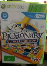 Udraw Pictionary Ultimate Edition - Microsoft XBOX 360 ������ FREE POST