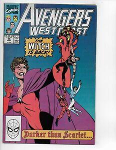 Marvel West Coast Avengers #56 Comic Book