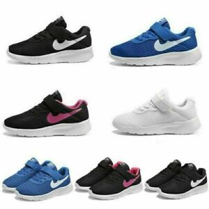 Kids Trainers Boys Girls Running Sports Shoes Children Gym School Sneakers Size