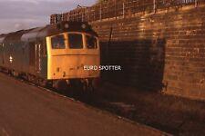 B377S 35mm Slide BR Class 25 25xxx @ Normanton (MG)