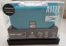 Brand New Altec Lansing MINI H2O Rugged Bluetooth Speaker Aqua Factory Sealed!