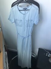 Tommy Hilfiger Denim Maxi Shirt Dress As New S 6 8
