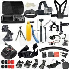 Accessories Set Kit Travel Bag for Gopro Hero 5 4 3+ 3 /SJCAM SJ4000/EKEN/SOOCOO