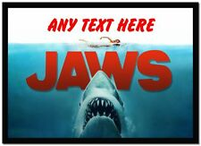 Jaws Shark Personalised Computer Mouse Mat