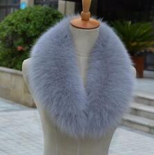 16 color Real fox fur collar genuine scarf shawl Wrap length 80cm