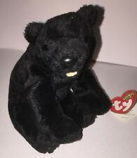 Beanie Baby babies Cinders the Bear 2000 + Tags but detached. Excellent conditio