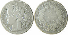III°  REPUBLIQUE  ,   2  FRANCS  CERES   ARGENT  ,   1872  A  PARIS