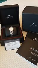 TAG Heuer - Link Lady Quartz 32mm PINK Mother of Pearl Dial Watch & date NEW