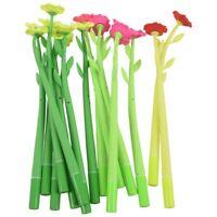 15pcs 0.38mm flower shape gel pen Q6X4