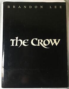 The Crow Movie Promo Press Kit-Brandon Lee-5 Photos Included