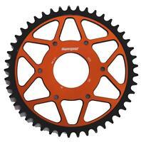 KTM Duke 125 390 Supersprox Edge Rear Sprocket 890-45 Black Orange