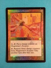 Magistrate's Scepter FOIL 1X MP SIGNED Adam Rex Mercadian Masques MTG