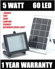 2018 Bizlander 60 Led 874 Lumens Solar Flood Light for Garden, Back yard, Garage