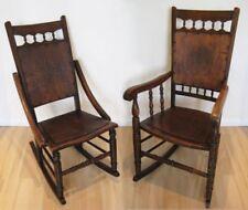 Wooden Original Edwardian Antique Chairs