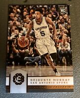 2016 - 2017 Dejounte Murray Panini Excalibur Rookie Card RC #159
