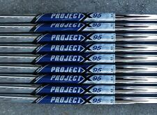 """2-PW NEW AUTHENTIC PROJECT X 95 FLIGHTED 6.5 FLEX .355"""" TAPER TIP IRON SHAFTS"""