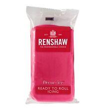 Renshaw Rollfondant DecorIce 250g Fuchsia Pink - Tortendekoration Tortendecke
