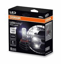2x OSRAM LED FOG LAMP Bulbs For H8 / H11 / H16 12V PGJ19-X 66220CW DuoBox