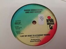 "SARAH BRIGHTMAN & HOT GOSSIP * I LOST MY HEART TO A STARSHIP TROOPER * 7"" SINGLE"