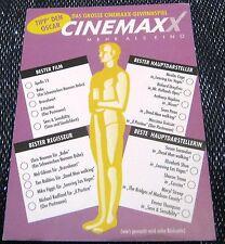 Advertising Film Oscar Night Cinemax X - unposted