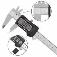 6Inch LCD Digital Vernier Caliper Micrometer Measure Tool Gauge Ruler 150mm