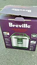 Breville fast slow cooker bpr600xl Open Box