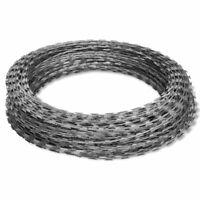 492' Galvanized Steel Garden Wire Fencing Clipped Concertina NATO Razor US W3O6