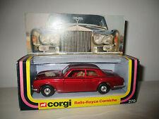 ROLLS ROYCE CORNICHE 279 CORGI