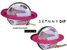 Skinnydip Skinny Dip Pink Planet Coin Purse Wallet Keyring Glitter BNWT NEW