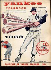 Yearbook Baseball New York Yankees 1963 Mickey Mantle Roger Maris