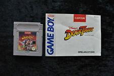 Duck Tales la Bande à Picsou Gameboy Classic + Manual