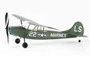 Vintage Model Company Cessna Bird Dog Balsa Aircraft Model Kit Rubber Powered