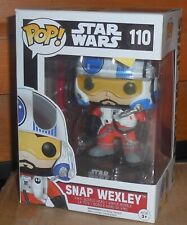Funko Pop! Star Wars SNAP WEXLEY Mib New 110