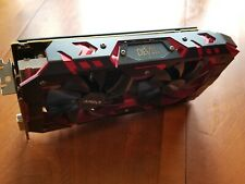 RX580 8GB GRAPHIC VIDEO CARD POWERCOLOR RED DEVIL NICE