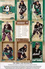 2005-06 Parkhurst by UD Anaheim Ducks Master Team Set (24)