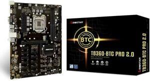 Biostar TB360-BTC PRO 2.0 i7/i5/i3 LGA1151 Intel B360 DDR4 12 GPU Mining