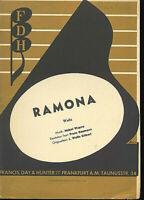 """"""" Ramona """"  Walzer von Mabel Wayne"""