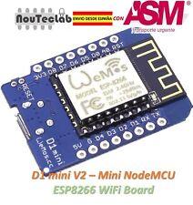 D1 mini V2 - Mini NodeMcu 4M bytes Lua WIFI Development Board ESP8266